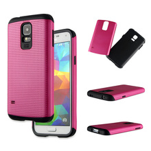 2014 new design and popular 2 in 1 cover case for Samsung Galaxy S5 i9600