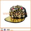 Funny Snapback Cap Gold Plate Snapback Cap Hat
