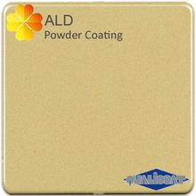 interior hybrid metallic gold powder coating