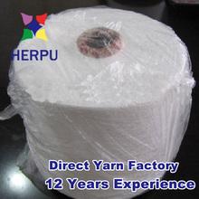 40s 12cones/pp bag spun yarn polyester for Mumbai market