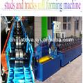 galvanizado de acero ligero calibre marco molino de balanceo de la máquina para la fabricación de paneles de yeso