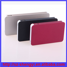 2014 new arrival slim design 8000mah max power battery charger