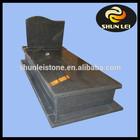 Black granite funeral supply