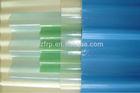 FRP plane skylight / transparent GRP tile/ wavy roof skylight