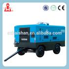 Used Longevity Diesel driven portable screw air compressor