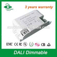 3 years warranty 45W led driver 1200ma DALI dimming moso led driver