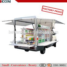diesel type snack food vending car/car food cooler warmer/food selling car