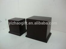 MDF square base,wooden square base