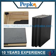 leather wood case cover for ipad mini 2