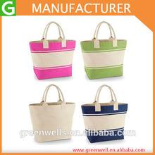 New Women's Handbags/ Ladies Canvas Summer Beach Tote Bag / Shopping Bag