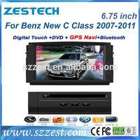 ZESTECH Car DVD Gps Navigation system for Mercedes-Benz C Class W204 (2008-2010) 180K C200 C260 C300