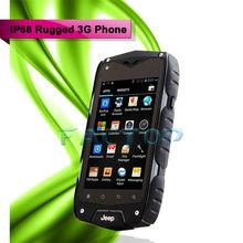 Z6 4.0Inch IPS MTK6572 Dual Core 2SIM GSM WCDMA Waterproof Rugged Mobile Cellular Phone