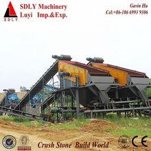 Stone Crusher Plant, granite crushing and screening plant