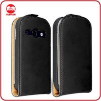 RF Manufacturer Wholesale Bulk Order Ultra Slim Magnetic Vertical Premium Leather Flip Case Cover for Samsung Galaxy Fame S6810