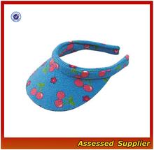 AL418/Hot sell cheap sun visor hats summer visor hat baby hat