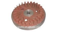 Flywheel, mini tiller spare parts