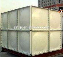 FRP fiberglass SMC rain water tan