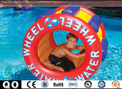 Best service newest design printable waterproof inflatable water wheel