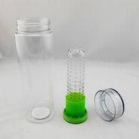 Shenzhen manufacturer green design color customized high quality decorative fruit and vegetable bottles