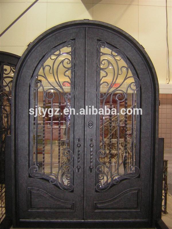 The new style design iron main entrance doors grill Main entrance door grill