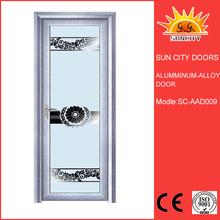 New design automatic garage door screens Aluminum Glass Door SC-AAD009