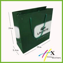 Popular craft paper bag printing service/fashional craft paper bag