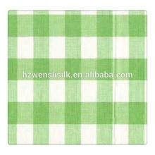 12mm Silk /Cotton Plaid Fabric