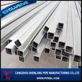 Con recubrimiento de zinc/galvanizado cuadrados/rectangular de tubos de acero/hueco sección/proveedor de humo de tabaco ajeno