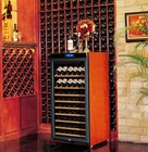 sample available white/red wine storage cabinet from shenzhen factory antique wooden wine cooler cabinet