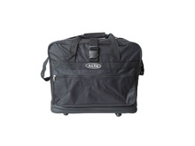 2014 designer hot sell cool hand travel bag on 4 rolling wheels