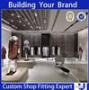 Designer solid wooden furniture boutique shop fittings for shop decoration