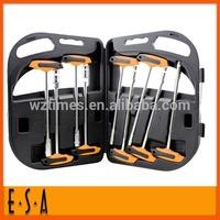 2014 High quality multi function drive set, promotional 9PCS T-HANDLE SOCKET DRIVER SET,professional hand drive set T18A094