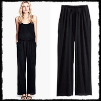 Women's Jersey Casual Loose Straight Wide Leg Palazzo Pants