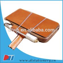 leather mini notebook case