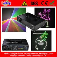 RGB Sd card text logo advertising laser light projector