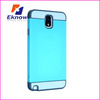 Best selling hybrid TPU&PC COMBO Mobile Phone Case For Samsung Galaxy Note 3
