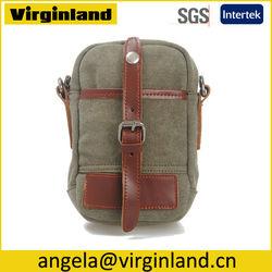 High Quality Mini Canvas Waist Bag for ipad/ Tablet with Pockets