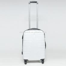 Air plane wheels very firm aluminum tube ABS+PC zipper trolley case