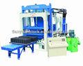 Qty4-15 do bloco de cimento que faz a máquina/semi automática máquina de fazer tijolos/calçada de tijolos da máquina