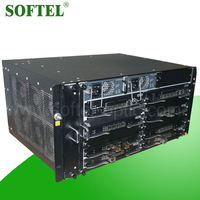 Latest networking device FTTH solution rack mount EPON GPON OLT