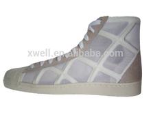 factory high cut white men platform shoes
