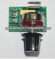3000W Electronic Thyristor Power Regulator Motor Speed Controller Dimmer Temperature Control