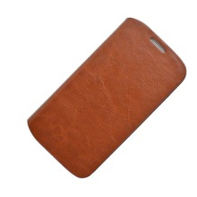 Brown ultra-thin Retro Leather case for Samsung Galaxy S4 I9500 stand cases