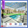 Luxury glass room design swimming pool enclosures /winter garden