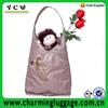 foldable zipper tote bag for women