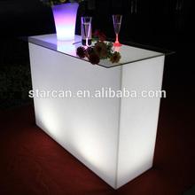 Mixing Lounge Led light up tables/Led bar furniture/Led furniture table