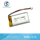 High Power lipo Battery 3.7V 400ma 100ma Rechargeable Battery For Toys