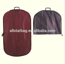 customized suit cover garment bag,uniform cover suit cover garment cover ,best suit covers