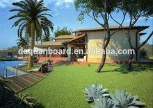 modern prefab house/prefabricated/modular beach house for sale