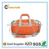 Handle Type and Polyester Material Orange Travel Duffel Bag/Traveling Duffle Bag